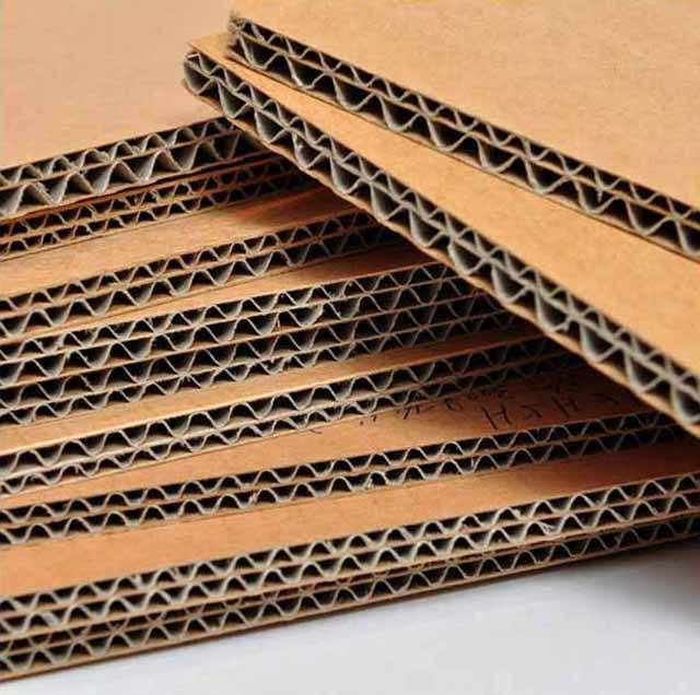 Shenzhen company 3mm thickness B flute corrugated cardboard sheet