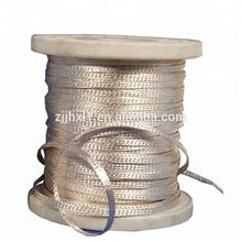 99.9999% Pure Silver Flat Litz Wire Silk Covered Flat Litz Wire Enameled Copper Magnet Wire