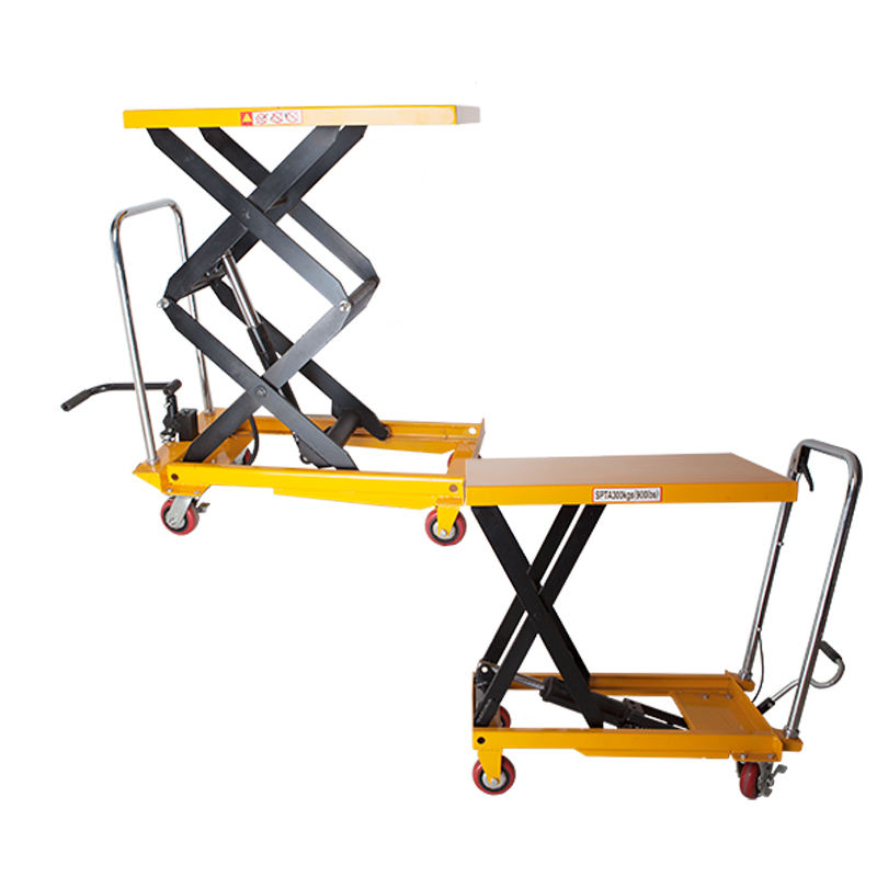 Advertising Company Scissor Lift Cart Hydraulic Manual Table Mobile Platform Selling Cheap