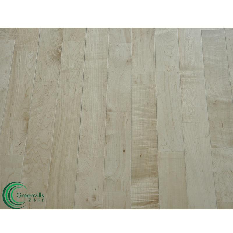 Fingerjoint Hardwood Maple Sport Wooden Flooring