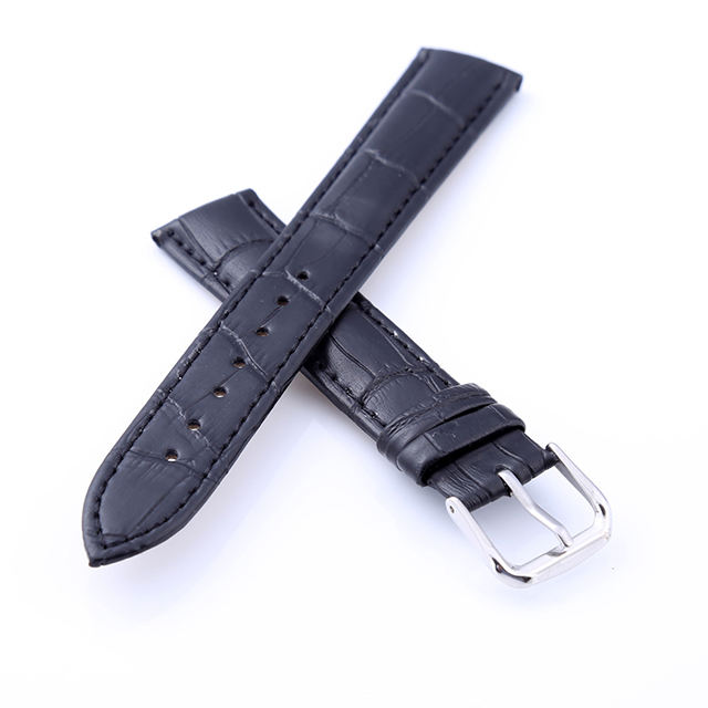 Wholesale multi color multi size accessories universal real leather watch strap