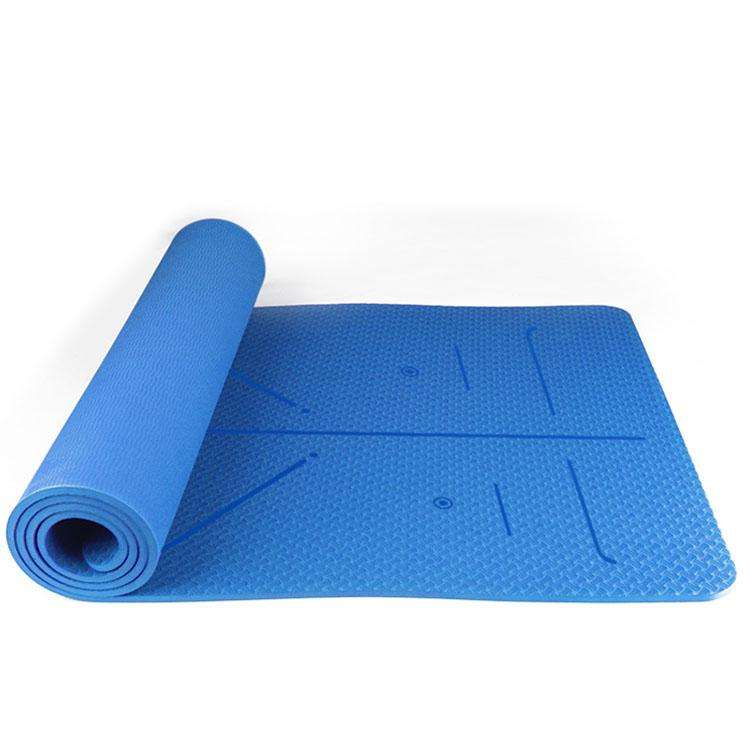 Cheap Price Low MOQ Custom Color Anti Skid 10mm TPE Yoga Mat
