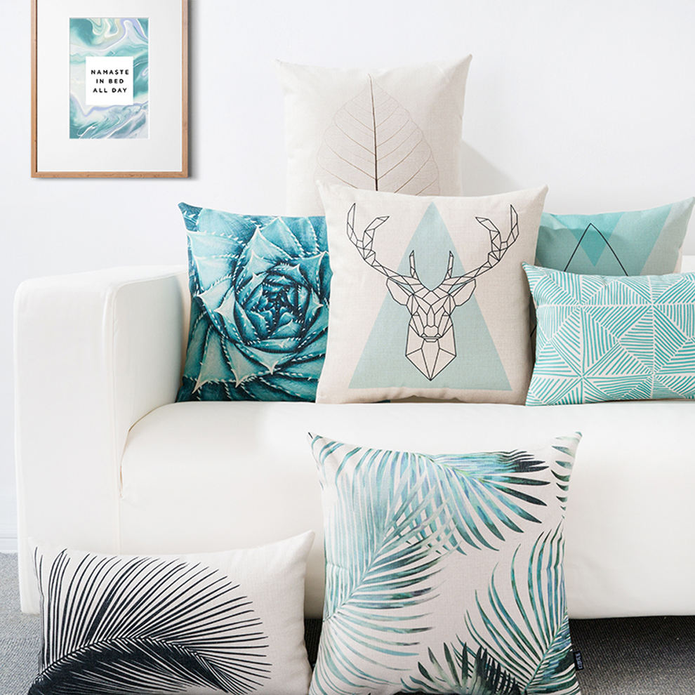 Wholesale Custom Print Decorative Throw Pillow Cover