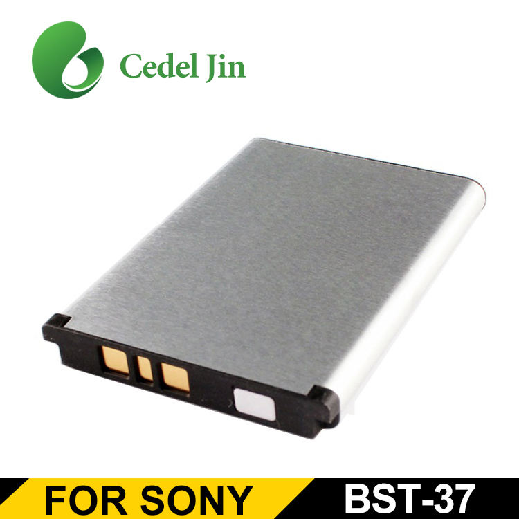 Battery For Sony BST-37 K770 Cell phone with 900 mAh Battery BST-37 C510 C902 C902C C905 F100 Jalou K770 K770i K850 K858c