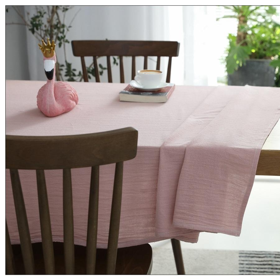 Wholesale stretch linens cotton fabric cutwork wedding hotel table cloth
