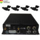 Truck Bus Taxi CCTV System 2TB Hard disk 1080P 4ch mobile dvr kit with gps 4G WiFi and cameras