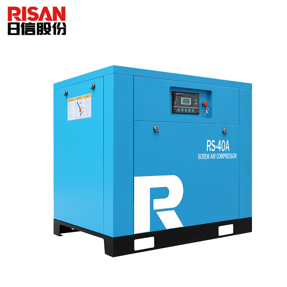 40hp Direct drive oil injected 8 bar 12 bar 30KW screw air compressor