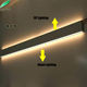 Decorative interior modern led home indoor lighting fixtures up down wall lamp/light
