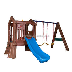 Color customizable play toy swing kids climb playground outdoor slide