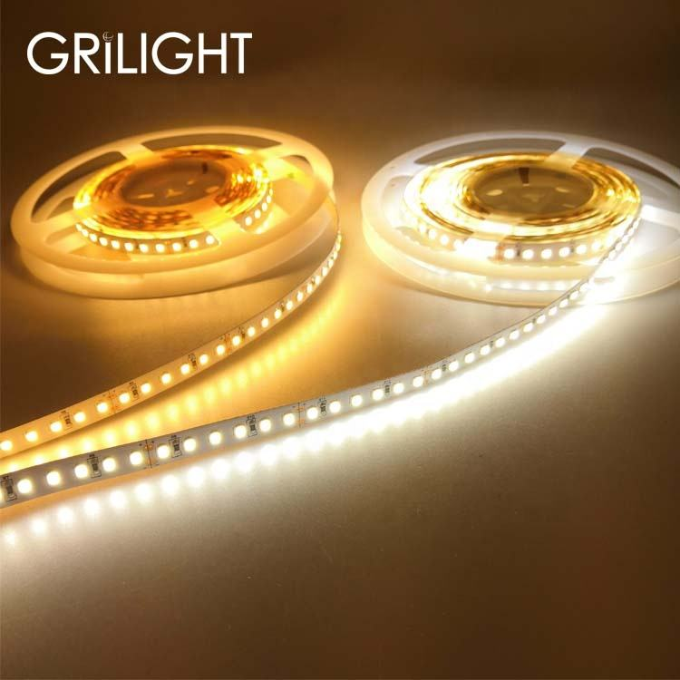 Super luminosità alto cri 90 2835 smd led light strip ip68 impermeabile luce a led corda