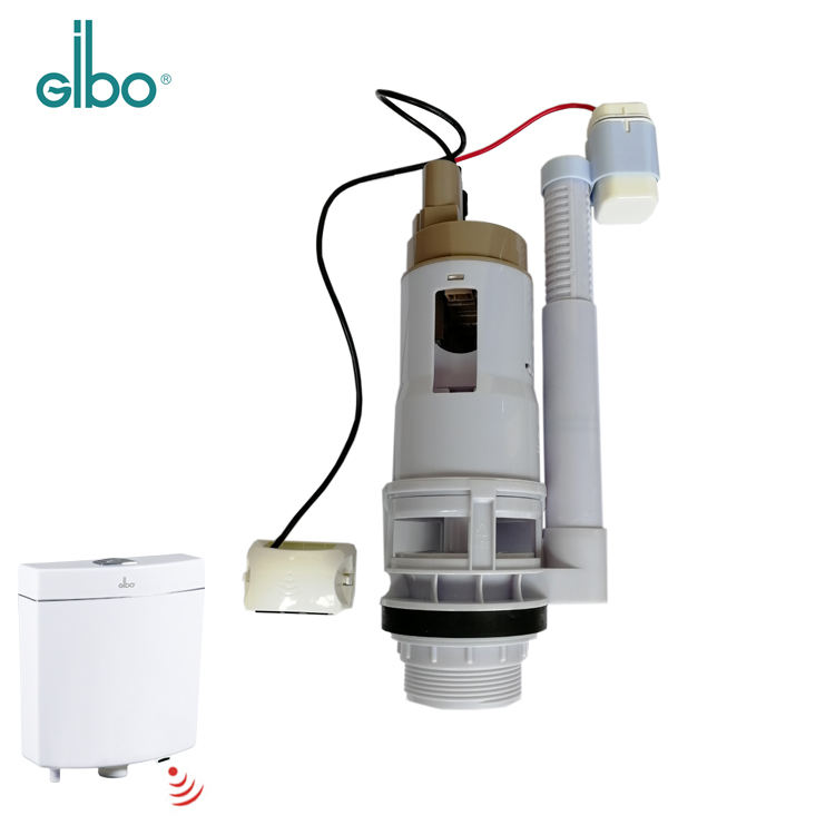 Watermark abs toilet cistern flush mechanism with sensor