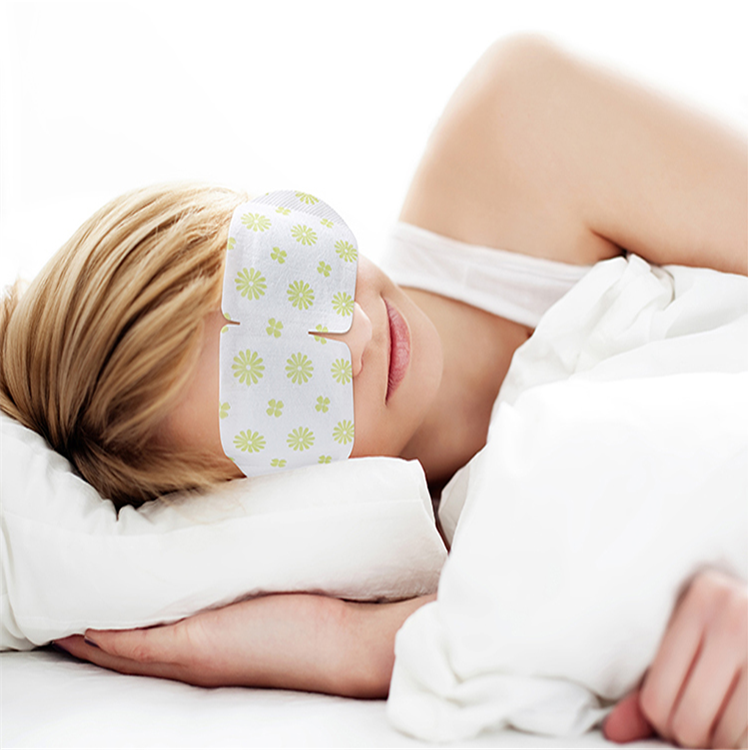 New product eye warmers steam eye mask /pad/patch steam heating patch for tired and dry eyes