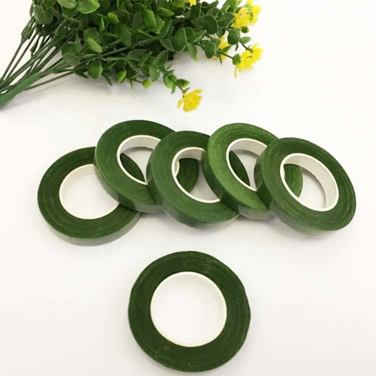 Customizable Wholesale All Kind of Color Choose Waterproof Binding Flower Green Floral Tape