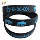 wholesale bulk cheap silicon bracelet glowing france usa unisex adult custom silicon wristband