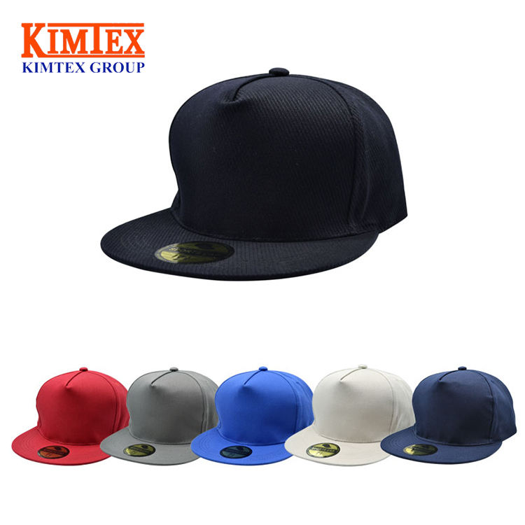 Fashion Wholesale Custom Promotional Flat Visor Plain Urban Cap