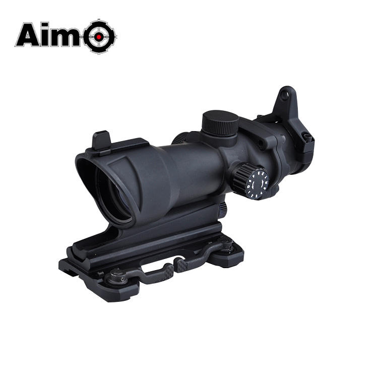 Aim-O ACOG 4X32 Scope Rood/Groen Richtkruis met QD Mount airsoft red dot air rifle scopes