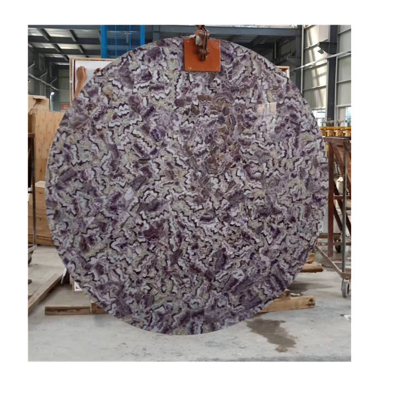 High Quality Amethyst Slab For Houses Design