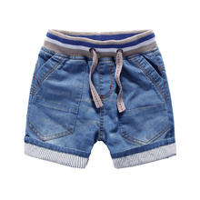 Wholesale summer new style soft short jeans casual pants for boys kids children jeans trousers