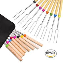 "32"" Inch Extendable Forks, Marshmallow Roasting Sticks, Telescoping Skewers"