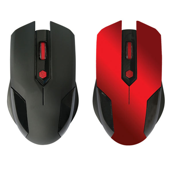 Best Selling Red Color Wireless Mouse for IBM Laptop
