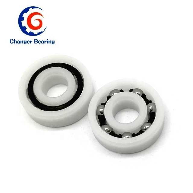 626 PP Plastic Bearings 6x19x6mm Glass Ball Nylon cage Pack of 5