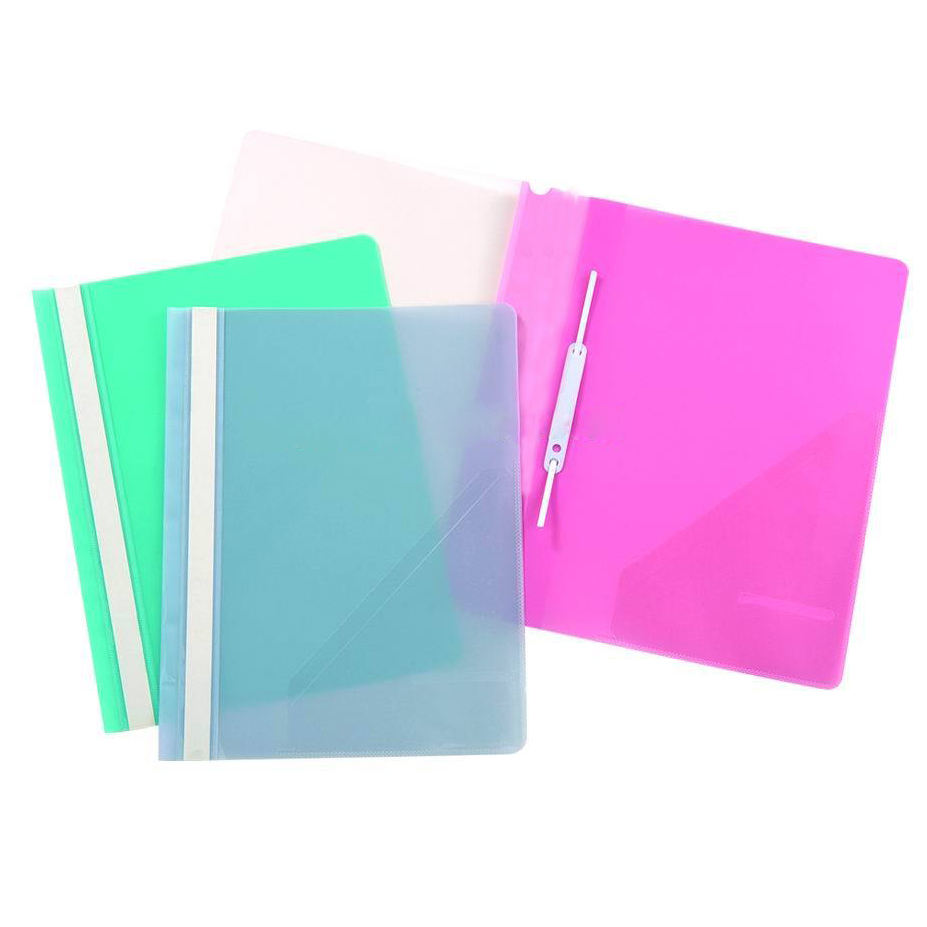 Office stationary document file holder A4 pp clear plastic report cover