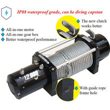 pulley block falling from drums wire rope electric winch hoist car winch