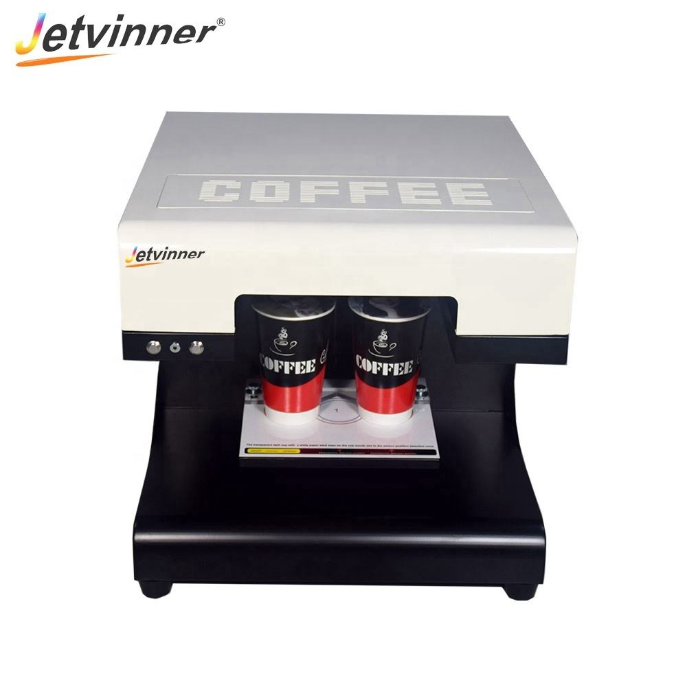 coffee printer can print colored and brown color 2cups coffee printer from china manufacturer