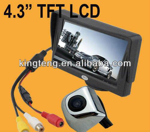 Carro retrovisor sistema de vídeo( kt- 4035& kt- 123)