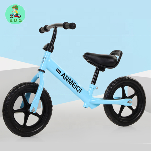wholesale 2019 New model steel tube no pedal training balance bike for children/ foam wheels kids balance bike