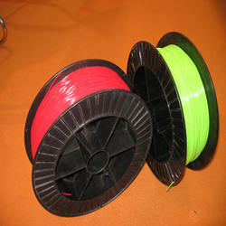 gauge 1.2mm-3.0mm bindng plastic filament, plastic wire filament,plastic coil raw material plastic string on spool