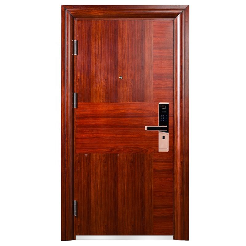 2019 Modern Design Safety Fireproof Sound Insulation Exit Fire-rated Steel Security Door