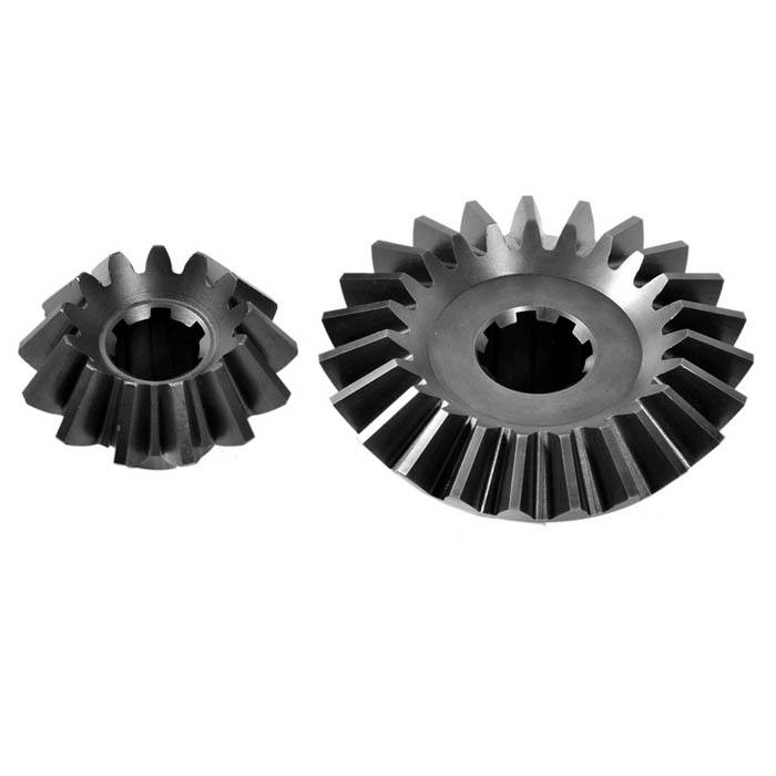 OEM manufacturer high speed direction 16MnCr5 rotavator bevel gear set use for Power transmission straight to required angle