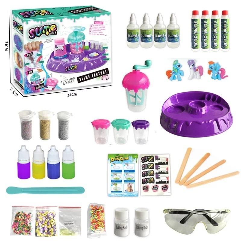 Slime Set Happy Fun Colorful Diy Slime Set With ASTM/CPC/EN71 Certificate For Kids