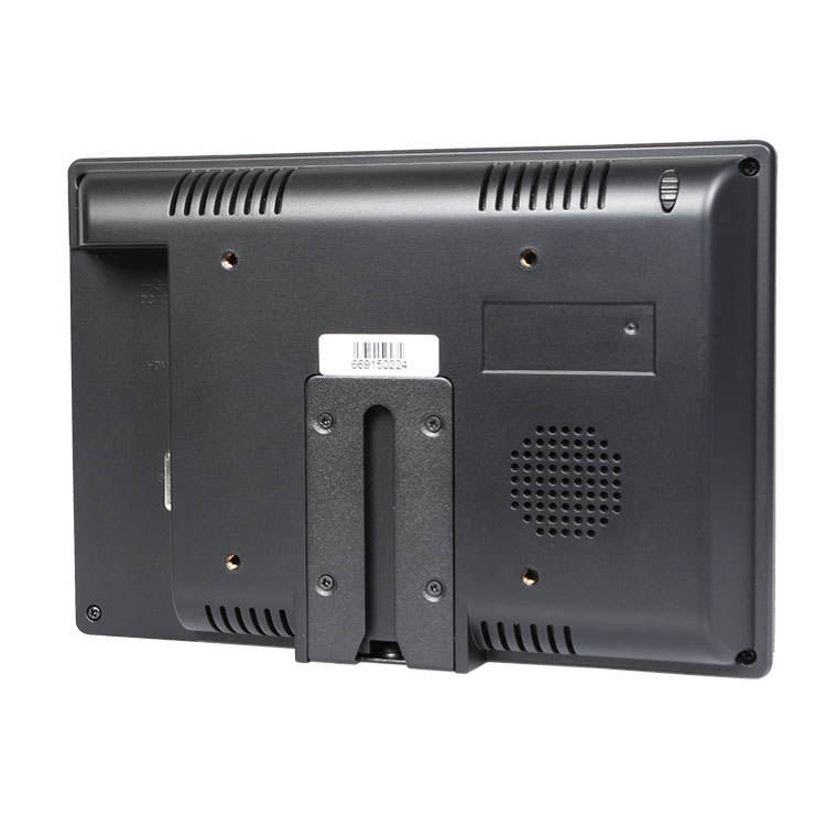 "Lcd Monitor 7 7"" TFT Touch Resistive Stand Bracket 4wire HDMI AV AHD Lcd Cctv Monitor With VGA Input"