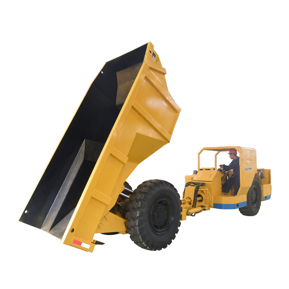 15 tons articulated 4wd underground mine truck UK-15 with euro 3 diesel engine and CE & ISO for sale