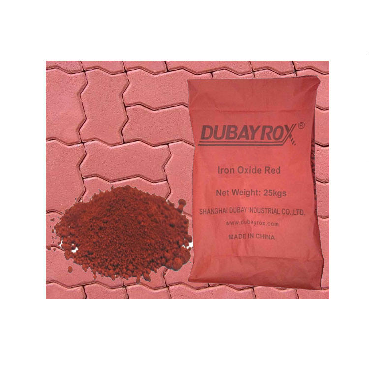 Red Iron Oxide 110 130 190 Iron Oxide Pigment Manufacturer for Concrete and Cement