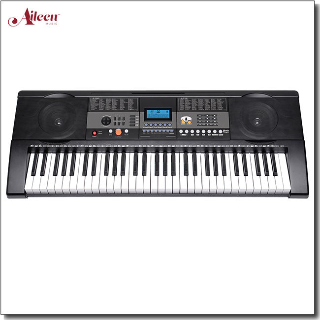 61 Key Simulation Piano Keyboard With Music Player(EK61215)