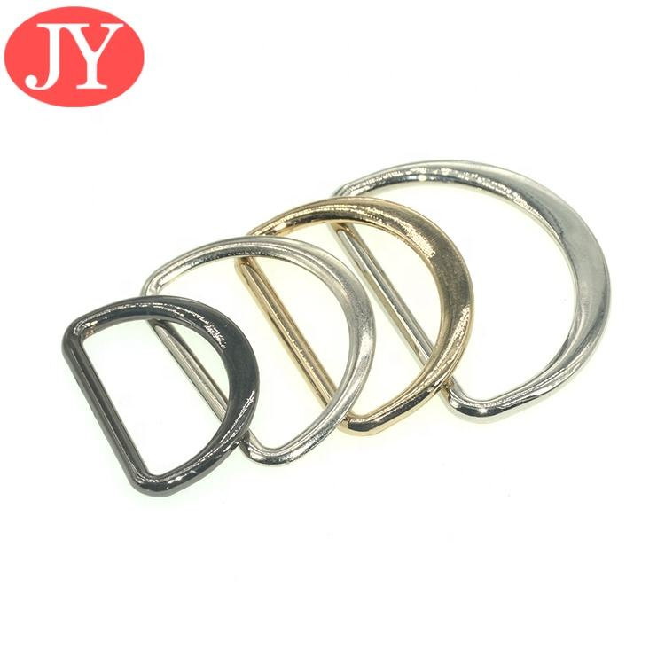 Zinc alloy Various size ready mold metal D ring Coat Belt silver D ring