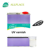 Transparent Liquid Ceramic Tile Uv Paint / Marble Uv Varnish Coating from ALLPLACE Factory