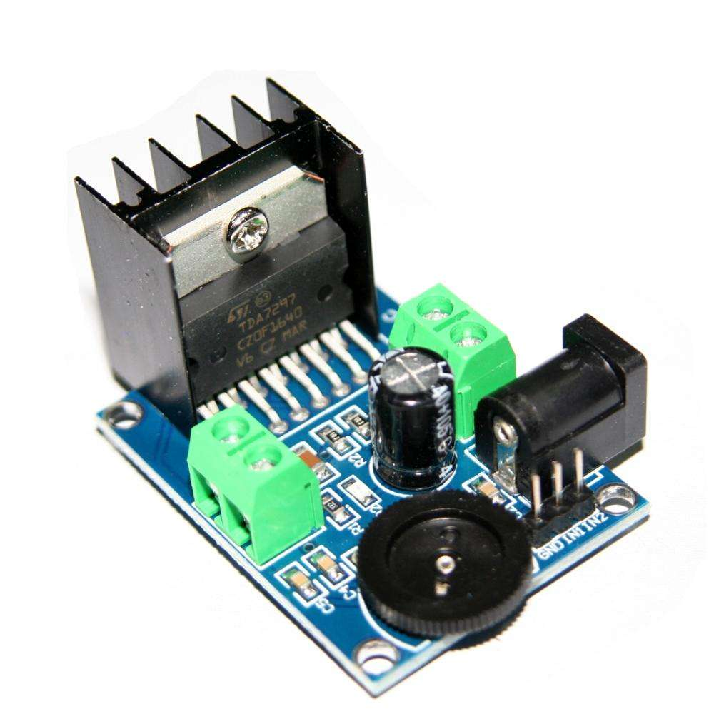 Amplifier Dc 6v 12v 18v 2 Channel 10w-50w Tda7297 Audio power amplifier board
