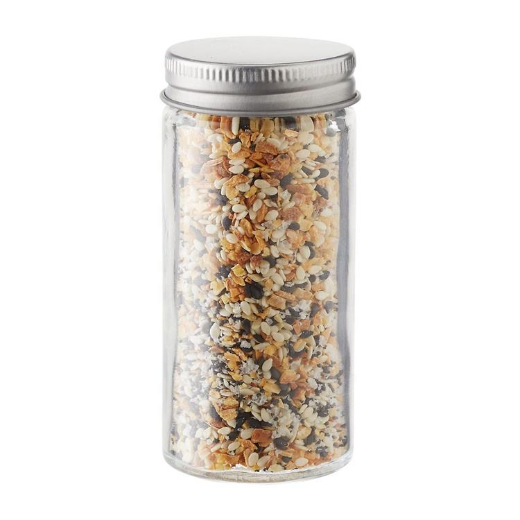 3oz glass spice salt and pepper shaker with seal