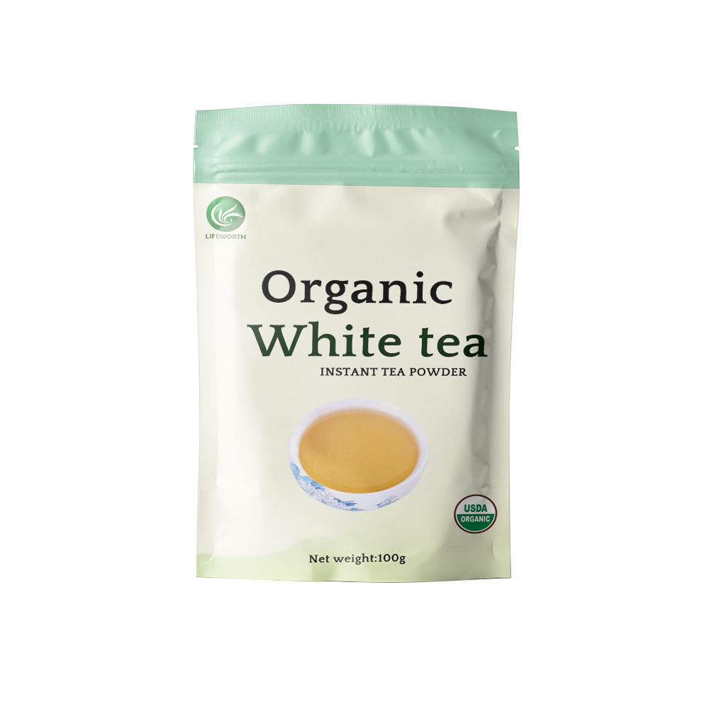 Lifeworth organic white tea powder