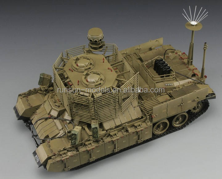1:35 IDF NAGMACHON DOGHOUSE-LATE APC 탱크 모델 키트