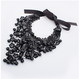 2017Slap-up Female Retro Gothic Women Black Lace Collar Choker Necklace