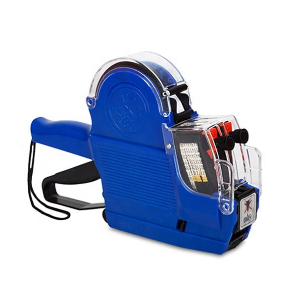 Portable Double Lines Price Sticker Labeler Gun