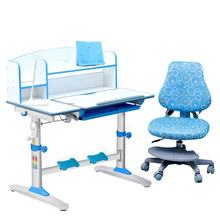 Kids ergonomic  study table for home use, adjustable height desk for children
