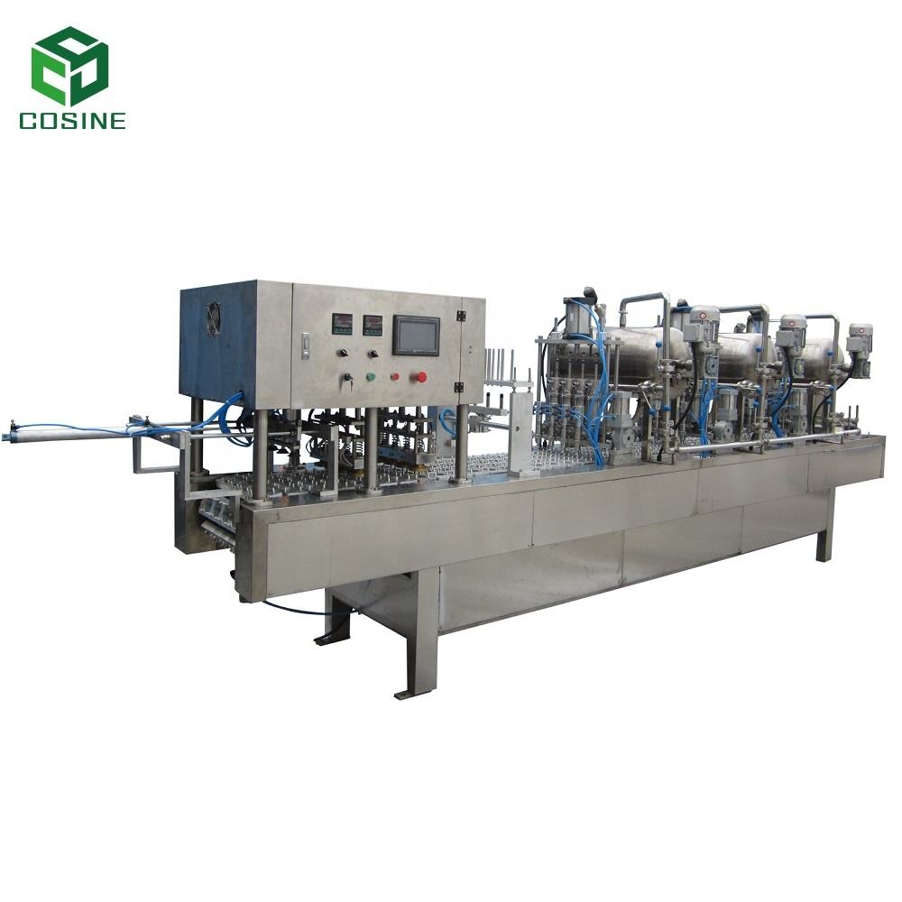 COSINE Shanghai machine high quality creative water cup filling packing machine with factory price
