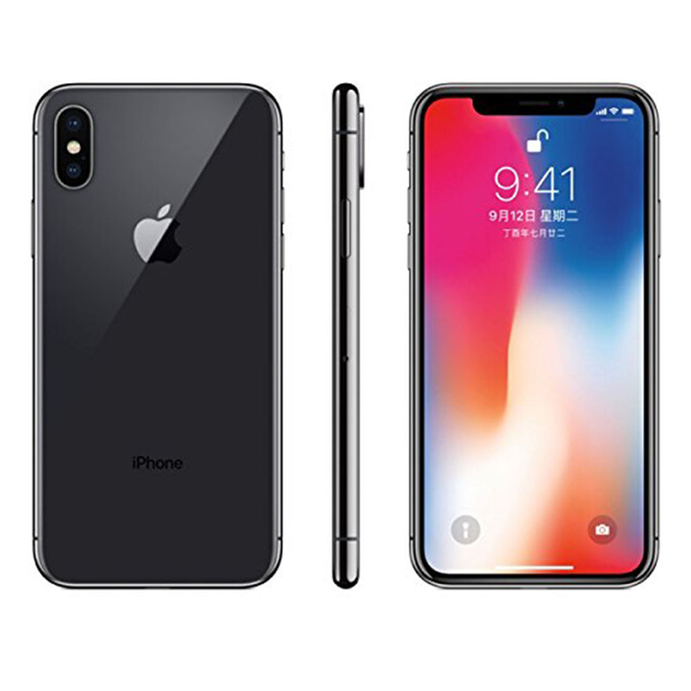 space gray Used A Grade smart cell phone 64 GB for Iphone X
