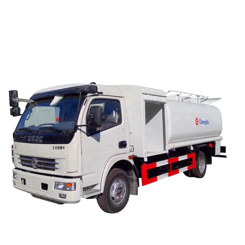 hot sell dongfeng 6000L fuel bowser truck low price aviation fuel refuel tank truck